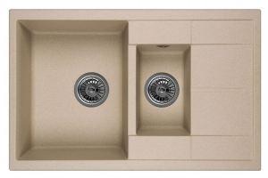 Мойка кухонная прямоугольная 7802 - Оптовый поставщик комплектующих «Древиз»