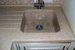 Мойка кухонная из искусственного камня - Оптовый поставщик комплектующих «Афиан»