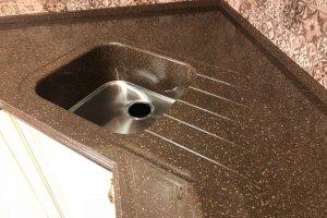 Мойка кухонная с металлическим дном 002 - Оптовый поставщик комплектующих «Киров-STONE»