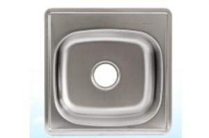 Мойка Лагуна врезная из нержавейки квадратная D4848P - Оптовый поставщик комплектующих «Модерн стайл»