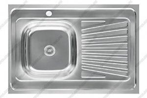 Мойка накладная 600х800 мм - Оптовый поставщик комплектующих «Модерн-Стиль А»