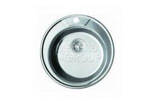 Мойка PREMIAL круглая Глянец D490 PL 4949 - Оптовый поставщик комплектующих «Мебельгрупп»