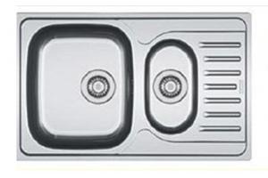 Мойка врезная с крылом с фруктовницей Арт.04.20.1 - Оптовый поставщик комплектующих «Европа»