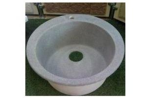 Мойка из искусственного мрамора круглая - Оптовый поставщик комплектующих «Студия камня»