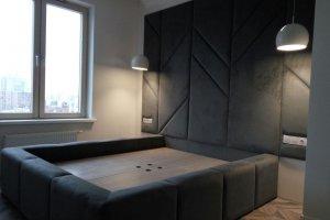 Мягкая большая кровать - Мебельная фабрика «Алрус-Арт»