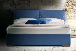 Мягкая двуспальная кровать - Мебельная фабрика «ProstoМебель»