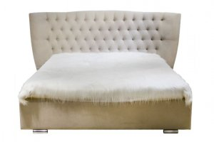Мягкая двуспальная Кровать - К11 - Мебельная фабрика «Престиж-Л»