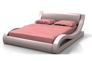 Мягкая кровать Адель - Мебельная фабрика «Грос»