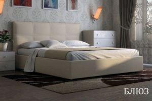 Мягкая кровать Блюз - Мебельная фабрика «Визит»
