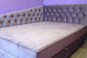 Мягкая кровать Calypso - Мебельная фабрика «Krovatiya»