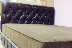 Мягкая кровать Chester - Мебельная фабрика «Krovatiya»
