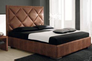 Мягкая кровать CUBE Мэри - Мебельная фабрика «Арново»