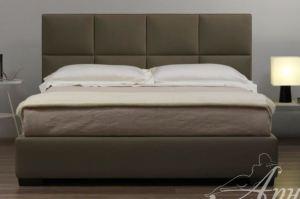 Мягкая кровать CUBE Оливер - Мебельная фабрика «Арново»