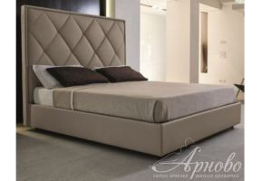 Мягкая кровать CUBE Патрик - Мебельная фабрика «Арново»
