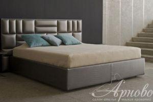 мягкая кровать CUBE Ривьера - Мебельная фабрика «Арново»