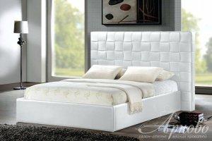 Мягкая кровать CUBE Синатра - Мебельная фабрика «Арново»