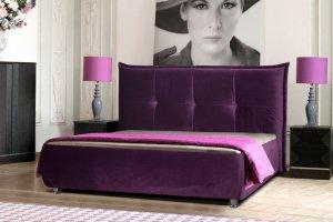 Мягкая кровать Диана - Мебельная фабрика «Заславская»