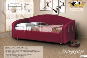 Мягкая кровать-диван Эльдорадо - Мебельная фабрика «Панда», г. Кузнецк