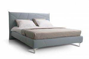 Мягкая кровать для спальни Альба - Мебельная фабрика «Мирлачева»