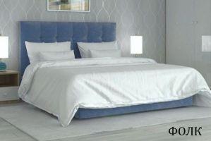 Мягкая кровать Фолк - Мебельная фабрика «Визит»