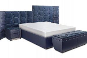 Мягкая кровать Кристалл - Мебельная фабрика «Британника»