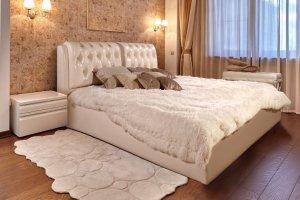 Мягкая кровать Лагуна - Мебельная фабрика «Гармония»