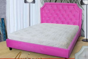 Мягкая кровать Либерия - Мебельная фабрика «ULMATRASI»
