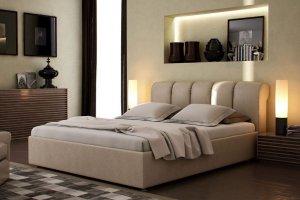 Мягкая кровать Малибу - Мебельная фабрика «Грин Лайн Мебель»