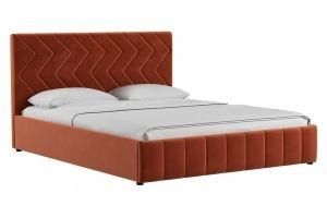 Мягкая кровать Милана - Мебельная фабрика «Нижегородмебель и К (НиК)»