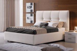 Мягкая кровать Нико - Мебельная фабрика «Divanger»