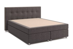 Мягкая кровать Николетт - Мебельная фабрика «Виктория-мебель»