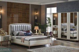 Мягкая кровать Песаро - Импортёр мебели «Bellona (Турция)»