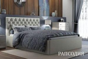 Мягкая кровать Рапсодия - Мебельная фабрика «Визит»
