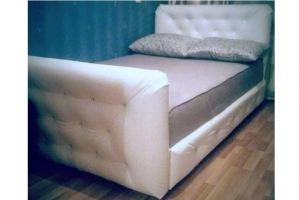 Мягкая кровать с двумя спинками - Мебельная фабрика «Диваны от Ани и Вани»