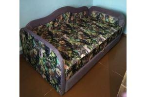 Мягкая кровать с тремя спинками - Мебельная фабрика «Диваны от Ани и Вани»