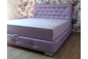 Мягкая кровать со стразами - Мебельная фабрика «Диваны от Ани и Вани»
