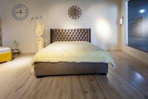 Мягкая кровать в спальню - Мебельная фабрика «ChesterStyle»