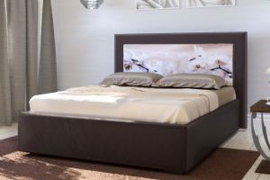Мягкая кровать Верона с купоном - Мебельная фабрика «Элна»