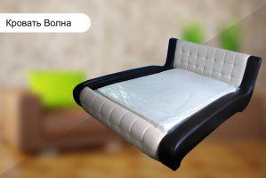 Мягкая кровать Волна - Мебельная фабрика «Галант»