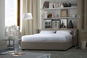 Мягкая широкая кровать Чарли - Мебельная фабрика «NEXTFORM»