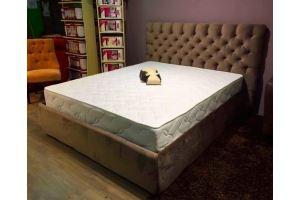 Мягкая спальная кровать - Мебельная фабрика «ОРСО БРУНО»