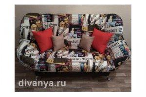 Мягкий диван клик-кляк Бриз Глори - Мебельная фабрика «Диваны от Ани и Вани»