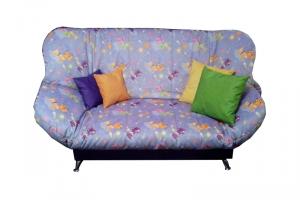 Мягкий диван клик-кляк Бриз Кэт Виолет - Мебельная фабрика «Диваны от Ани и Вани»