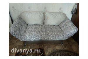 Мягкий диван клик-кляк Никко Камелия Вайт - Мебельная фабрика «Диваны от Ани и Вани»