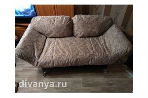 Мягкий диван клик-кляк Никко МЮ-155 - Мебельная фабрика «Диваны от Ани и Вани»