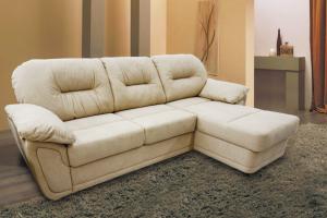 Мягкий диван Мадрид с оттоманкой - Мебельная фабрика «MebelLain»