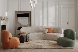 Мягкий диван Patti - Мебельная фабрика «ОГОГО Обстановочка!»