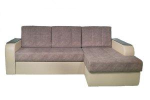 Мягкий диван с оттоманкой Олимп - Мебельная фабрика «Норма», г. Орск