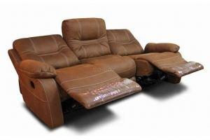 Диван Портленд 3-местный с 2 реклайнерами - Мебельная фабрика «Bo-Box»