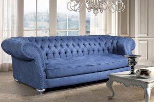 Мягкий диван с утяжками - Мебельная фабрика «Слониммебель»